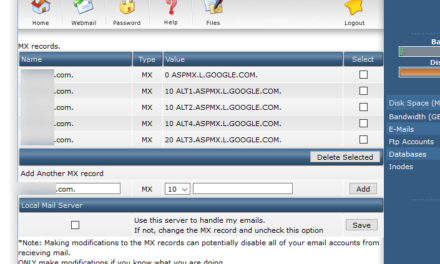 Setting up MX records for G suite in DirectAdmin