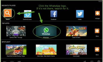 Installing WhatsApp on your PC using the BlueStacks emulator